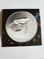 Canada 2016 $20 for $20 Star Trek™ USS Enterprise Fine Silver Coin