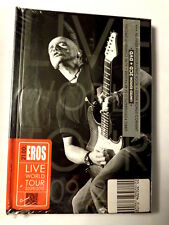 21.00: EROS  -  LIVE WORLD TOUR 2009/2010  -  2 CD+ DVD+ BOOK  NUOVO E SIGILLATO
