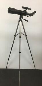 Astro Optics 70AZ Refractor Stargazing Telescope Complete Package w/ FREE STUFF