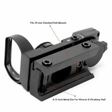 20mm Rain Holographic Red Dot Scope Sight 4 Reticle Tactical Hunting Airsoft
