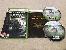 Fallout 3-Spiel des Jahres Edition (Microsoft Xbox 360, 2009) GOTY