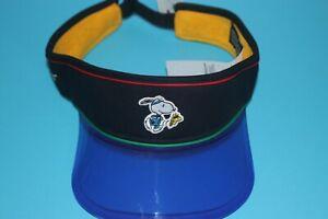 LEVI'S X PEANUTS SNOOPY - SPORTS VISOR HAT / CAP - BLUE