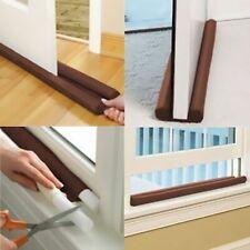 Twin Draft Door Guard Stopper Wind Dust Blocker Sealer Insulator Door Windows