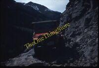 Jeep CJ-5 Colorado Mountain Road Offroading 1950s 35mm Slide Vtg Kodachrome B