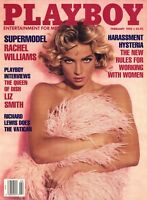 PLAYBOY FEBRUARY 1992 Tanya Beyer Rachel Williams Liz Smith Jennifer Jason Leigh