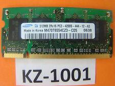 Samsung M470T6554CZ3-CD5 (512 MB,PC2-4200 (DDR2-533),DDR2 RAM,533 MHz #kz-1001