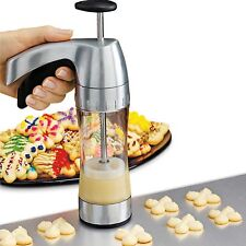 Cookie Pastry  Press Wilton 19 Disk Cookie Pro Ultra II  Soft Grip Trigger Set