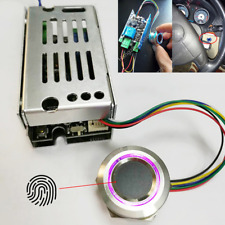 12V LED Fingerprint Control Module Switch Start & Lock For Car Door Ignition 1x