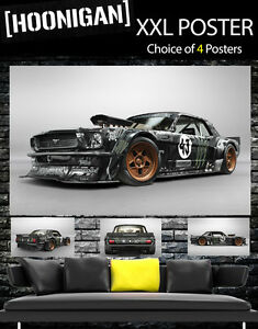 Ken Block GIANT Wall Art POSTER PRINT ART in ONE PIECE FORD V8