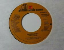 1981 Neil Young Southern Pacific/ Motor City VG++ 45 Record RPM