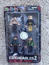The Expendables 2 Minimates Movie TRU Exclusive Box Set Barney Trent
