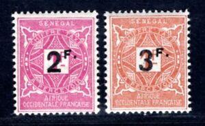 SENEGAL PORTO 1927 Yvert TT 20-21 ** POSTFRISCH sehr SCHÖN (I3146