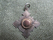 Edwardian Silver Cycling Medal / Fob. 1910. Kimber Cup. Streatham Cycling Club.