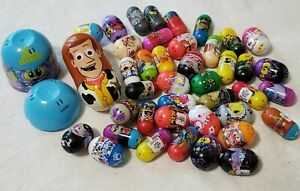 MIGHTY BEANZ LOT OF 42 TOY BEANS assorted pictures on them