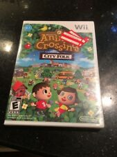 Animal Crossing Let's Go To The City Nintendo Wii New & Factory Sealed First