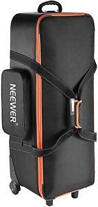 "Neewer Photo Studio Equipment Trolley Carry Bag 38""x15""x11""/96x39x29cm with Stra"