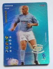 STAM JAAP N° 2 LAZIO 2002 / 2003 FOIL / HOLO FOOTBALL CHAMPIONS 170 P DIFENSORE