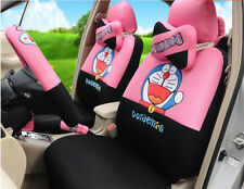 1 set cartoon 3D ventilate Net universal car seat cover seat covers pink & black