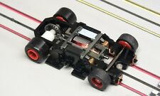 Tyco HO Slot Car - 440x2 Wde-Pan STAGE II Chassis 6.5 Ohm Pro-8™ w/ Red Hubs