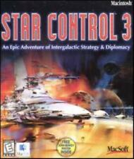 Star Control 3 + Manual, Poster MAC CD conquer alien planets war game! BIG BOX