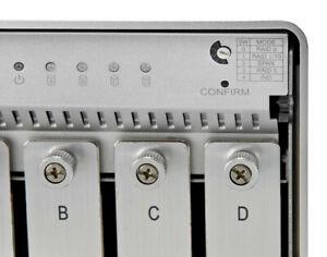 OWC Mercury Elite Pro Quad 4 Bay 3.5 SATA I/II drive enclosure 300mbps transfer