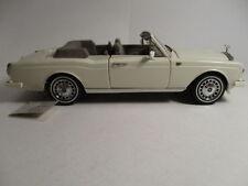 Rolls-Royce Franklin Mint Diecast Cars