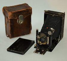 """USSR """"FOTOKOR-1"""" 9x12 CAMERA + KODAK SHUTTER + DOMP ANASTIGMAT f6.8/168 lens"""