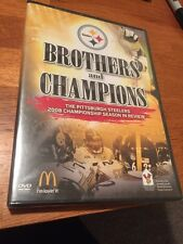 Steelers Brothers And Champions Dvd