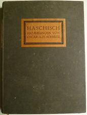 Alfred Kubin Haschisch, Alfred Kubin, Georg Müller Verlag, Illustrierte Bücher,