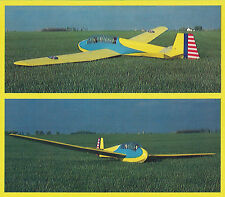 Giant 1/4 Scale Schweizer TG-3 Sailplane Plans, Templates and Instructions 162ws