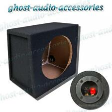 "10 ""POLLICI MDF Nero Carpet SUB SUBWOOFER involucro chiuso CAR AUDIO BASS BOX 25 CM"