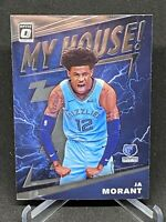 2019-20 Donruss Optic Ja Morant My House Rookie RC Grizzlies #7