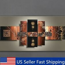 5Pcs Modern Abstract Wall Oil Painting Art Canvas Picture Print Unframed Decor
