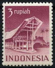 Indonesia 1949-50 SG#568A 3s Purple MH Cat £130 #D50973
