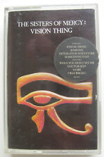 The Sisters Of Mercy VISION THING Cassette Tape Album (MR449C)