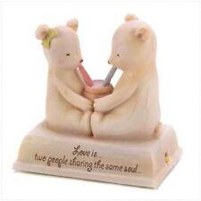 Heartstring Teddies In Love Musical Teddy Bear Figure Romantic Anniversary Gift