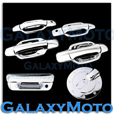 05-12 Chevy Colorado Triple Chrome 4 Door+PSG Keyhole+Tailgate Handle+GAS Cover