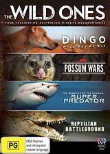 The Wild Ones * NEW DVD * Australian Documentary Dingo Possum Shark Crocodile