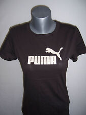 TEE SHIRT femme PUMA manches courtes neuf taille 40 coloris marron black coffee