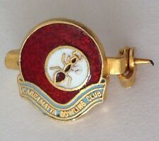 Cabramatta Bowling Club Badge Bar Pin Lawn Bowls Red Ant Design (M23)