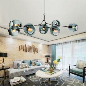 LED Modern Nordic Ceiling Lights Molecular Glass Pendant Light Chandeliers Lamp