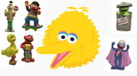 Collectibles: Sesame Street Character Figurines