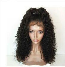 Brazilian Human Hair  16in Wig Full Lace Wig Pre Plucked Hairline Baby Hair