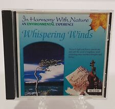 In Harmony with Nature: Whispering Winds by Various Artists (CD, Aug-1994