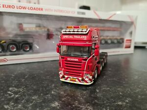 WSI 1/50 SCALE SCANIA TOPLINE 5 AXLE TRACTOR UNIT MAIK PETERS LIVERY