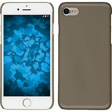 Hardcase Apple iPhone 7 / 8 rubberized gold Cover + protective foils