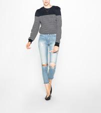 NWT SILVER JEANS Women's Blue High-Rise Mom Denim Jeans 33 X 27