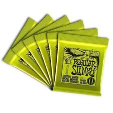 6pcs Ernie Ball 2221 10-46 Regular Slinky Electric Guitar Strings