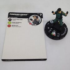 Heroclix Marvel's What If? set Punisher Squad #008 Common figure w/card!