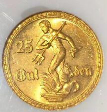 25 Gulden Danzig 1930 Gold, KM150, Jäger D11, Echtheit garantiert NGC MS65